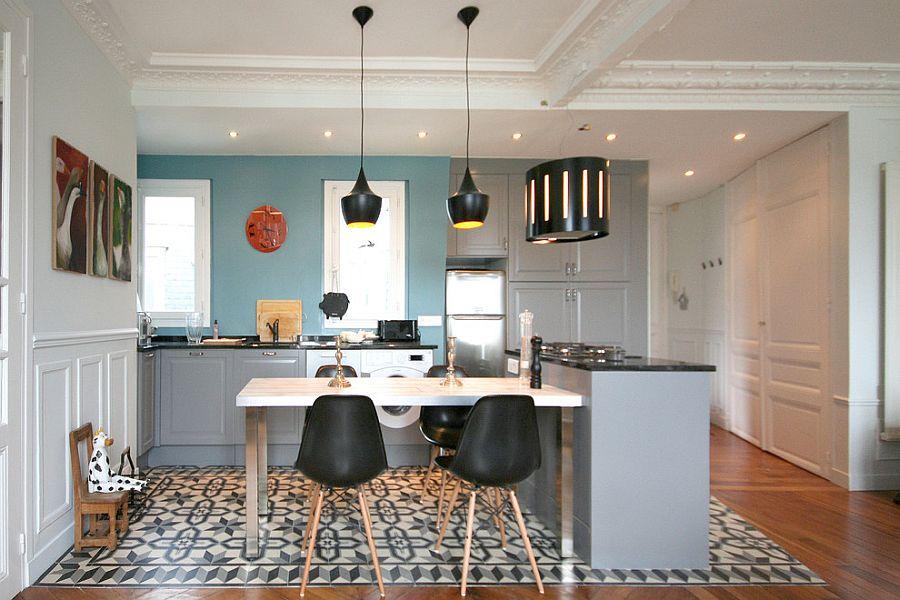 Интерьер кухни в стиле эклектика - Фото 44