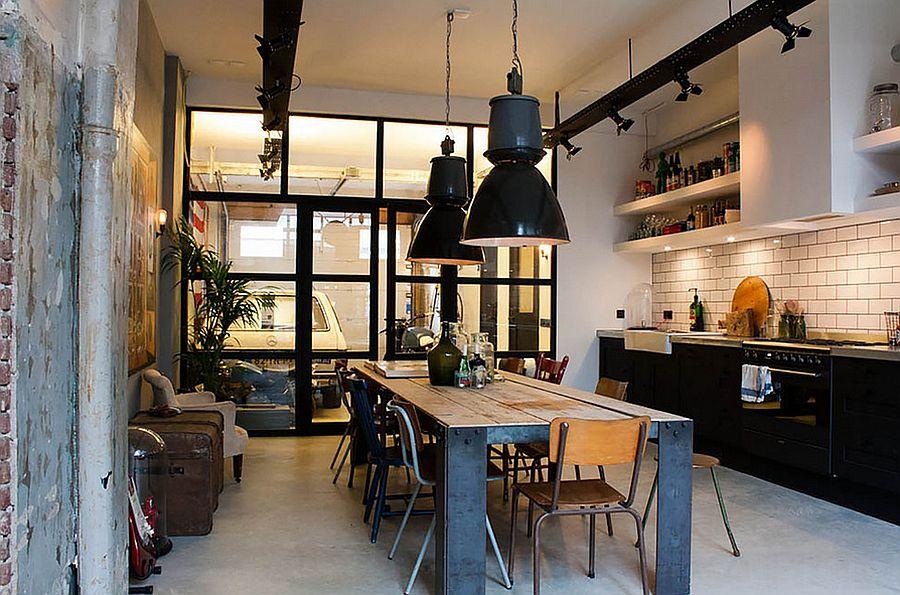 Интерьер кухни в стиле эклектика - Фото 45