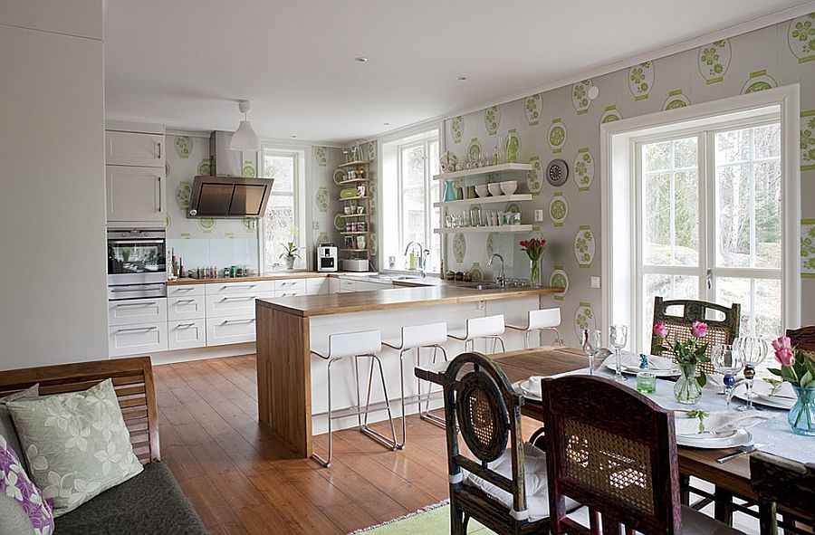Интерьер кухни в стиле эклектика - Фото 46