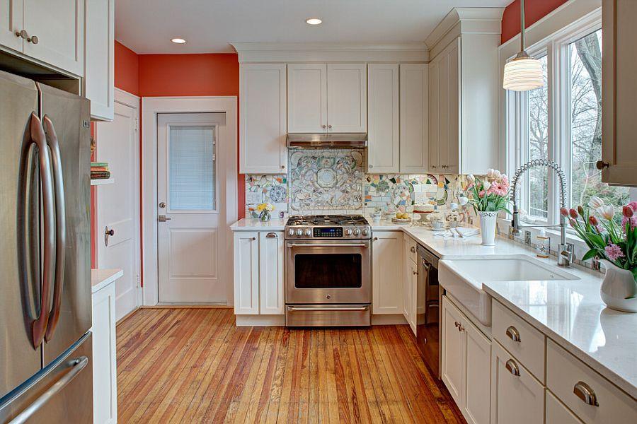 Интерьер кухни в стиле эклектика - Фото 47