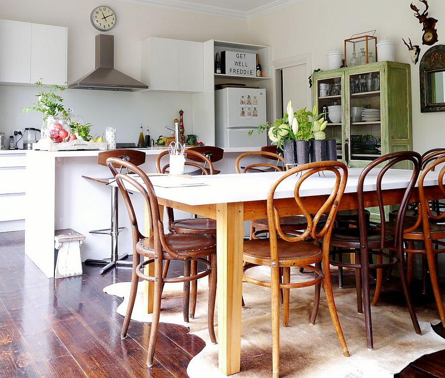 Интерьер кухни в стиле эклектика - Фото 49