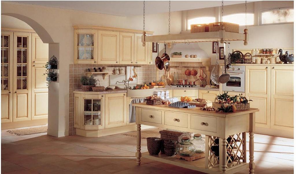 Кухня в стиле прованс в светлых тонах