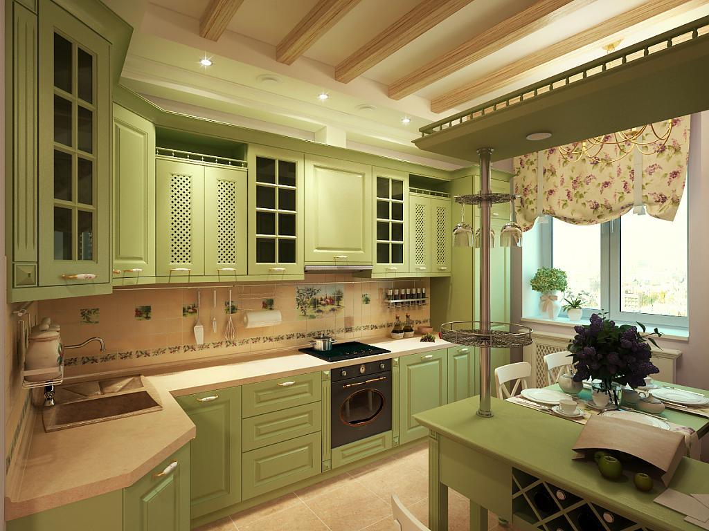 Кухня в стиле прованс - Фото 7