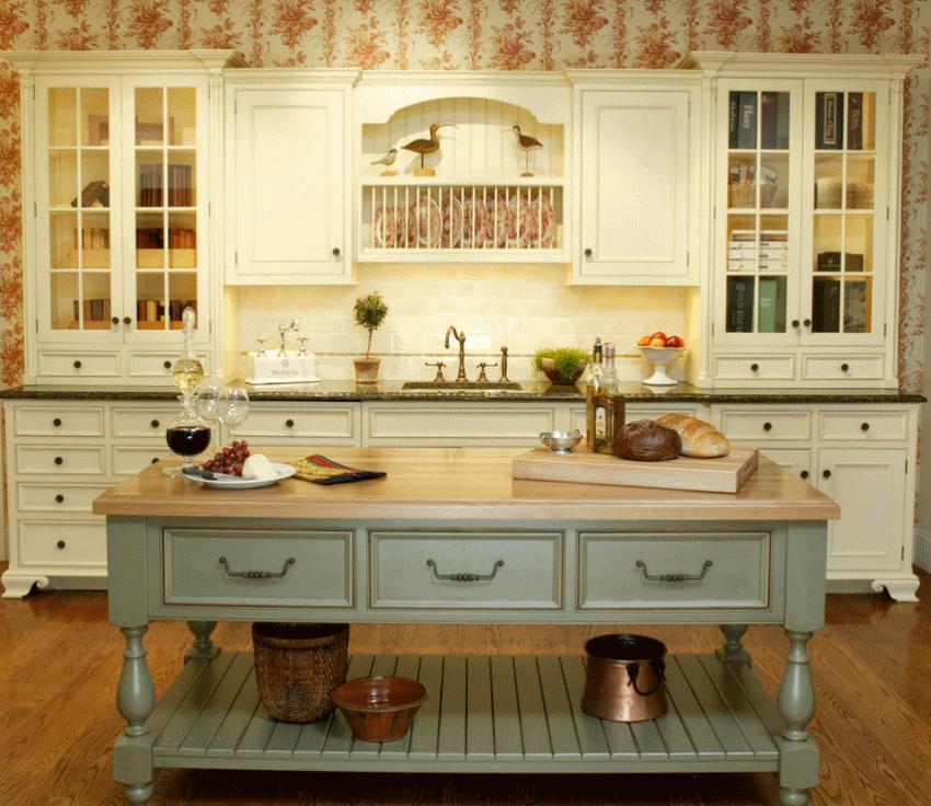 Кухня в стиле прованс - Фото 10