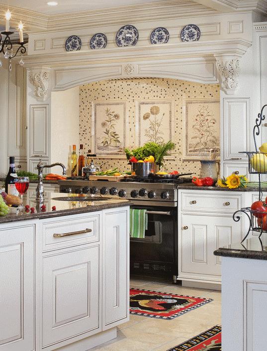 Кухня в стиле прованс - Фото 11