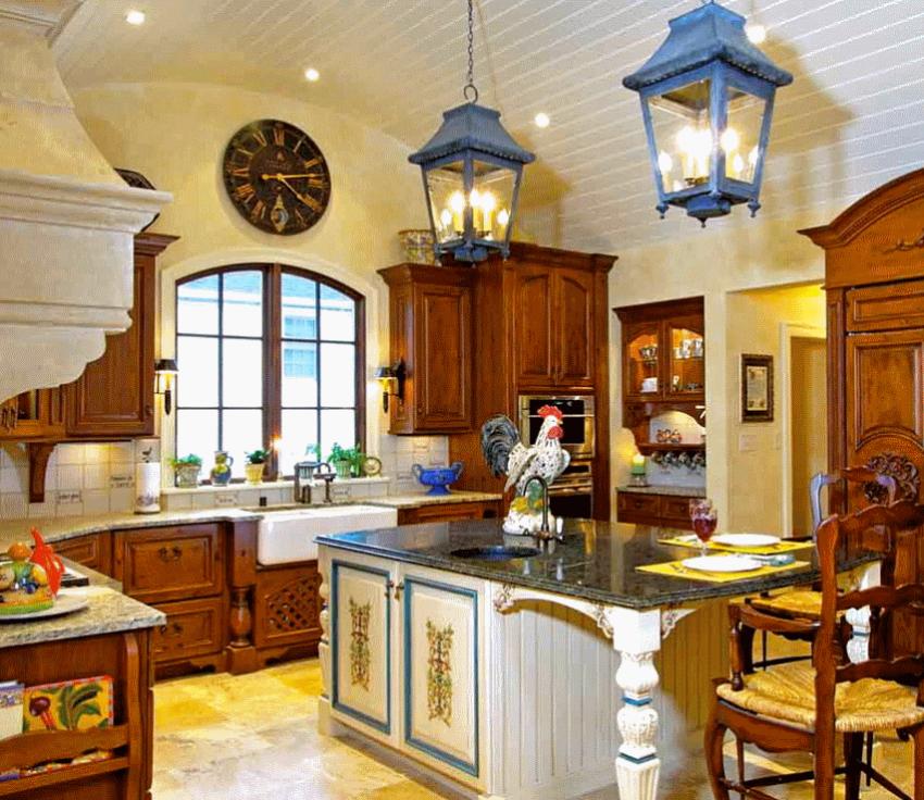 Кухня в стиле прованс - Фото 12