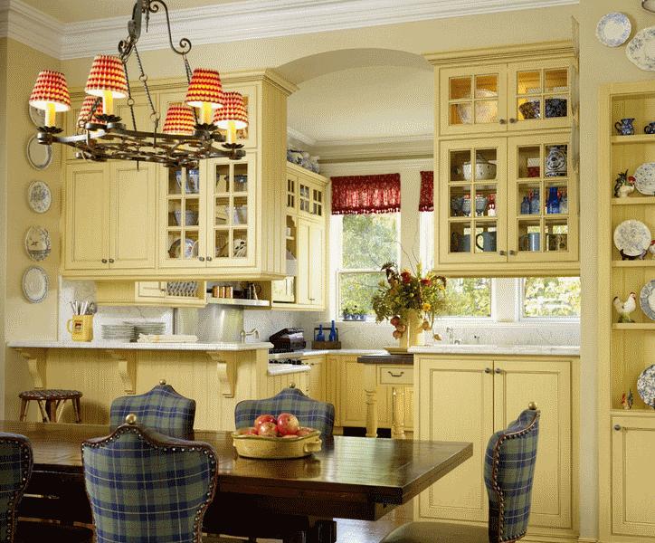 Кухня в стиле прованс - Фото 14