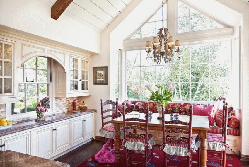 Кухня в стиле прованс - Фото 15