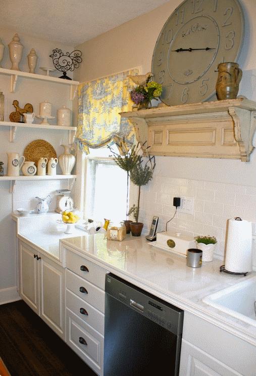 Кухня в стиле прованс - Фото 16