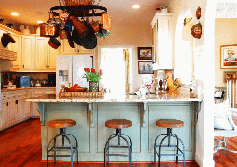Кухня в стиле прованс - Фото 17