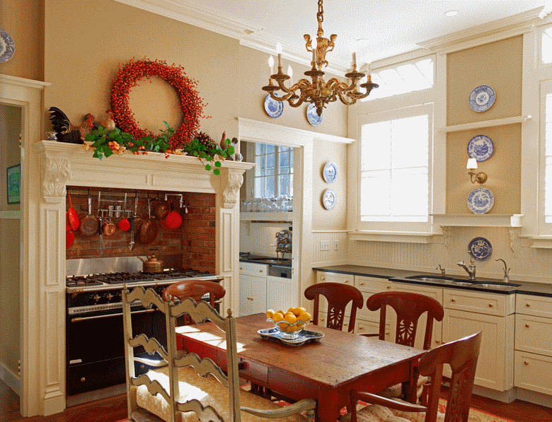 Кухня в стиле прованс - Фото 18