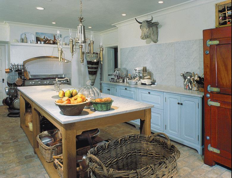 Кухня в стиле прованс - Фото 19