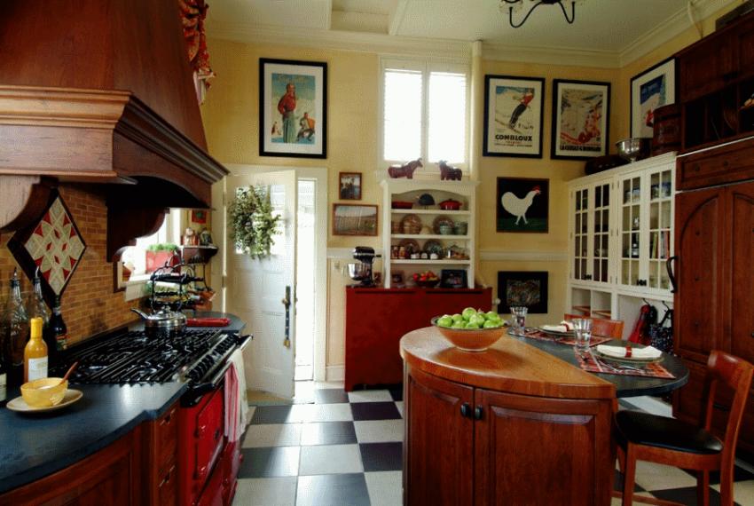 Кухня в стиле прованс - Фото 20