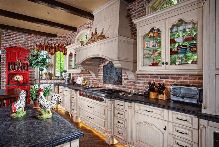 Кухня в стиле прованс - Фото 21