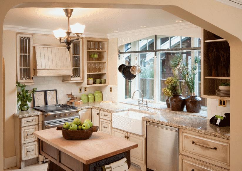 Кухня в стиле прованс - Фото 24