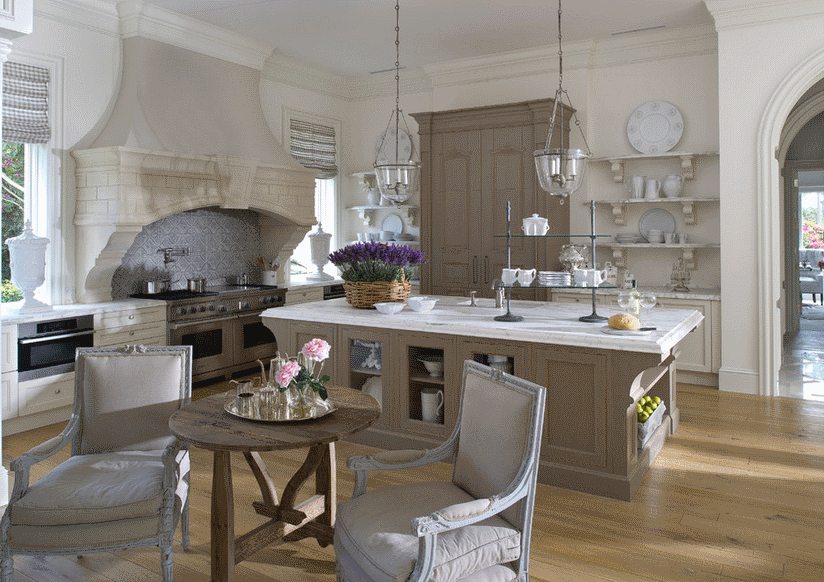 Кухня в стиле прованс - Фото 25