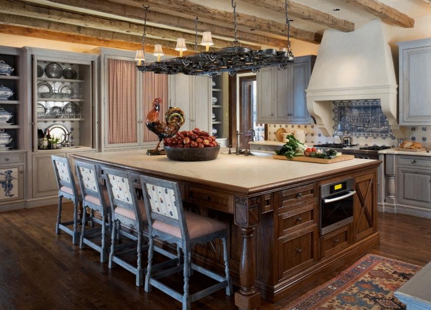 Кухня в стиле прованс - Фото 26