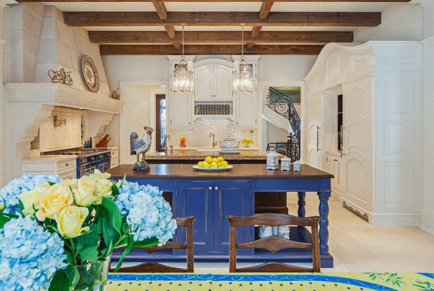 Кухня в стиле прованс - Фото 27
