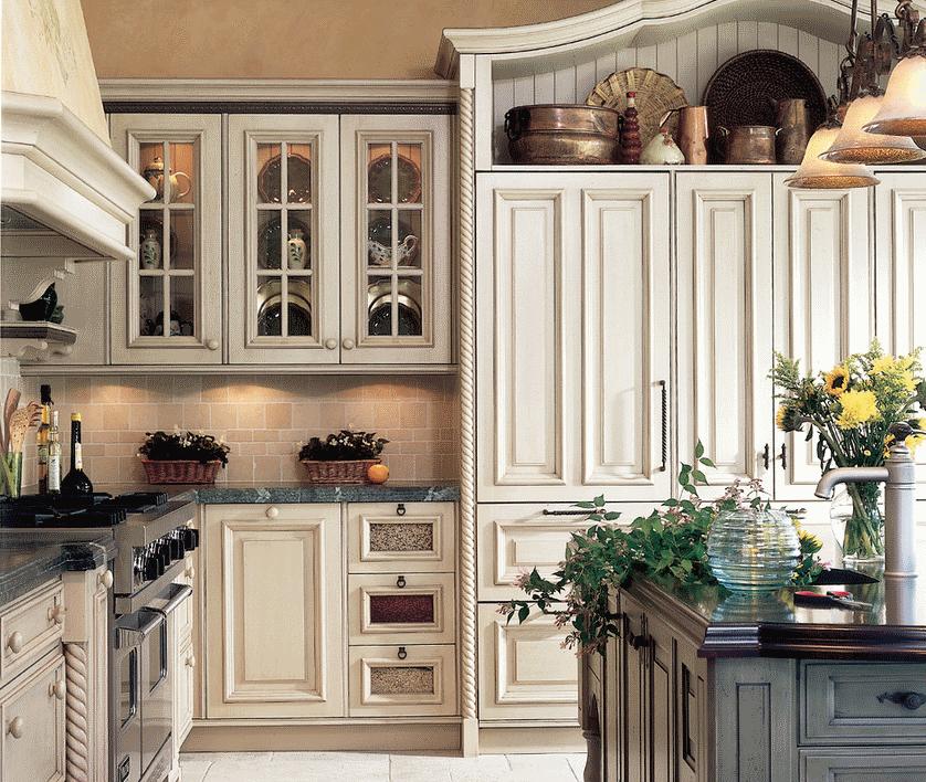 Кухня в стиле прованс - Фото 28