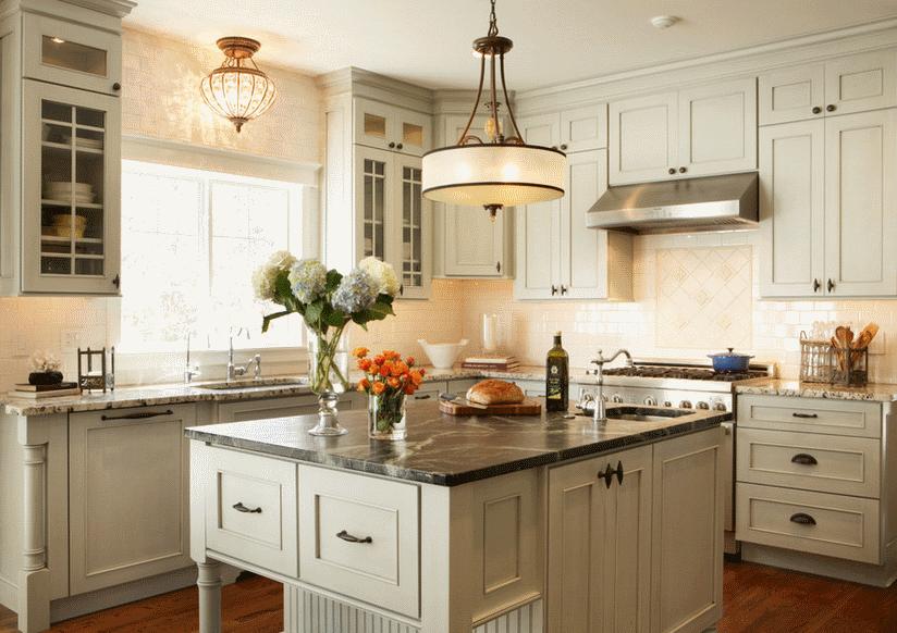 Кухня в стиле прованс - Фото 29