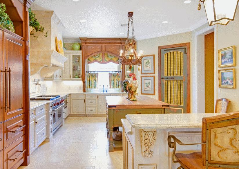 Кухня в стиле прованс - Фото 31