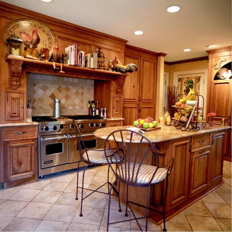 Кухня в стиле прованс - Фото 33
