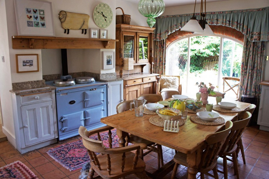 Кухня в стиле прованс - Фото 34