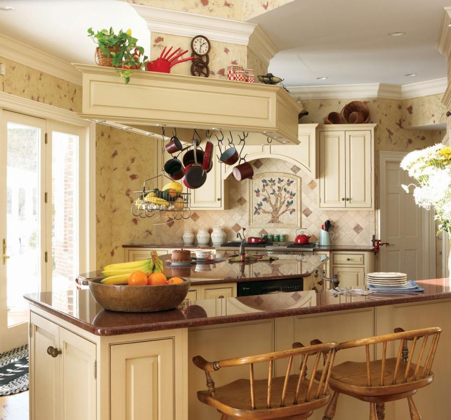 Кухня в стиле прованс - Фото 36