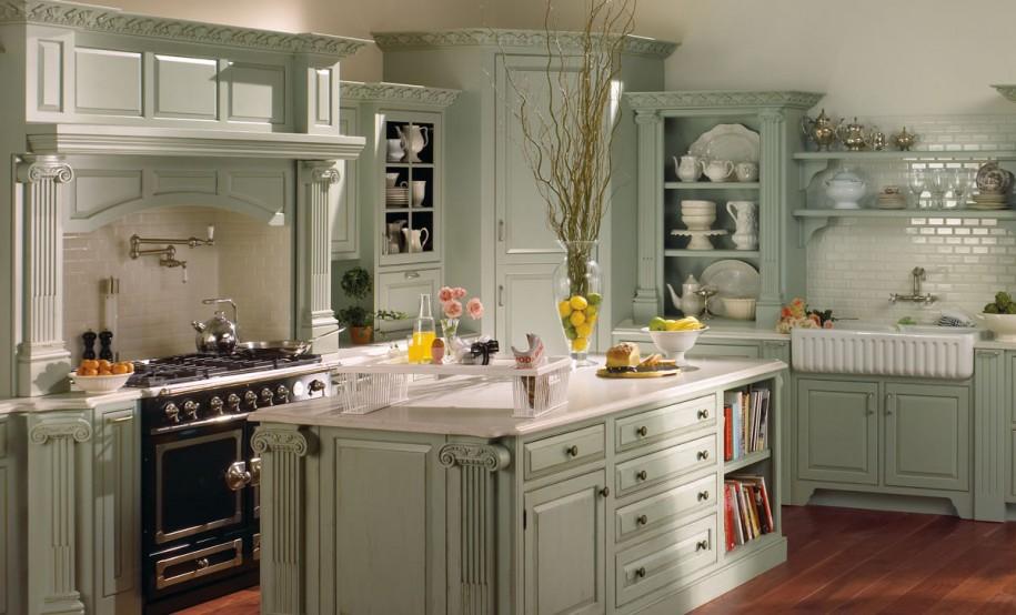 Кухня в стиле прованс - Фото 37