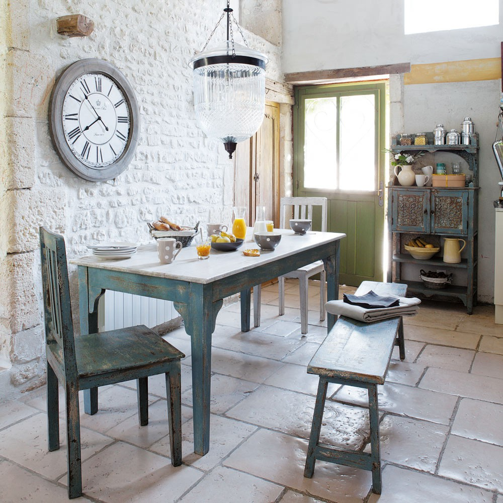 Кухня в стиле прованс - Фото 39