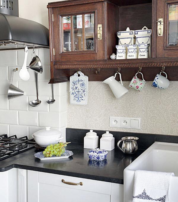 Кухня в стиле прованс - Фото 40