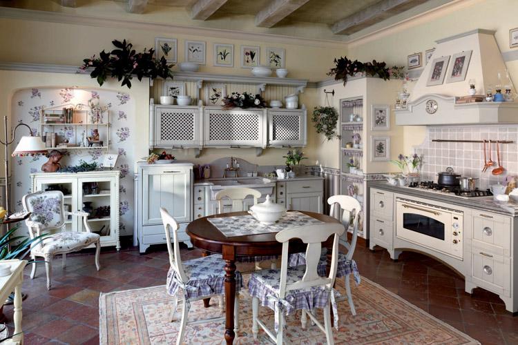 Кухня в стиле прованс - Фото 43