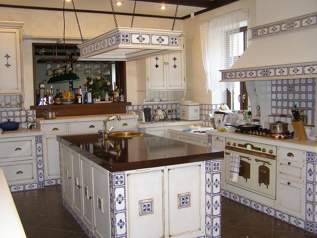 Кухня в стиле прованс - Фото 44