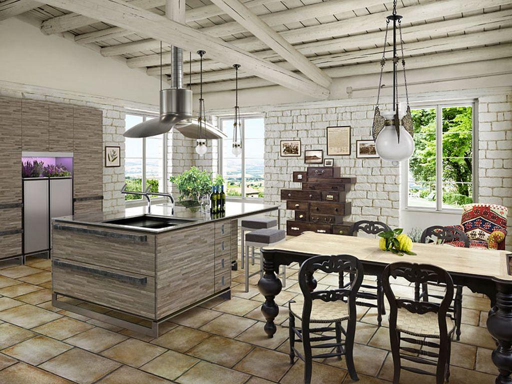 Кухня в стиле прованс - Фото 46