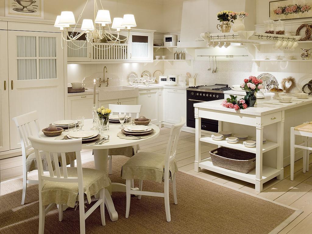 Кухня в стиле прованс - Фото 48