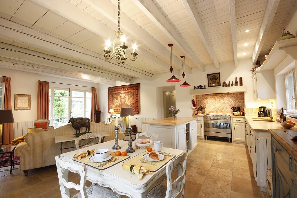 Кухня в стиле прованс - Фото 50