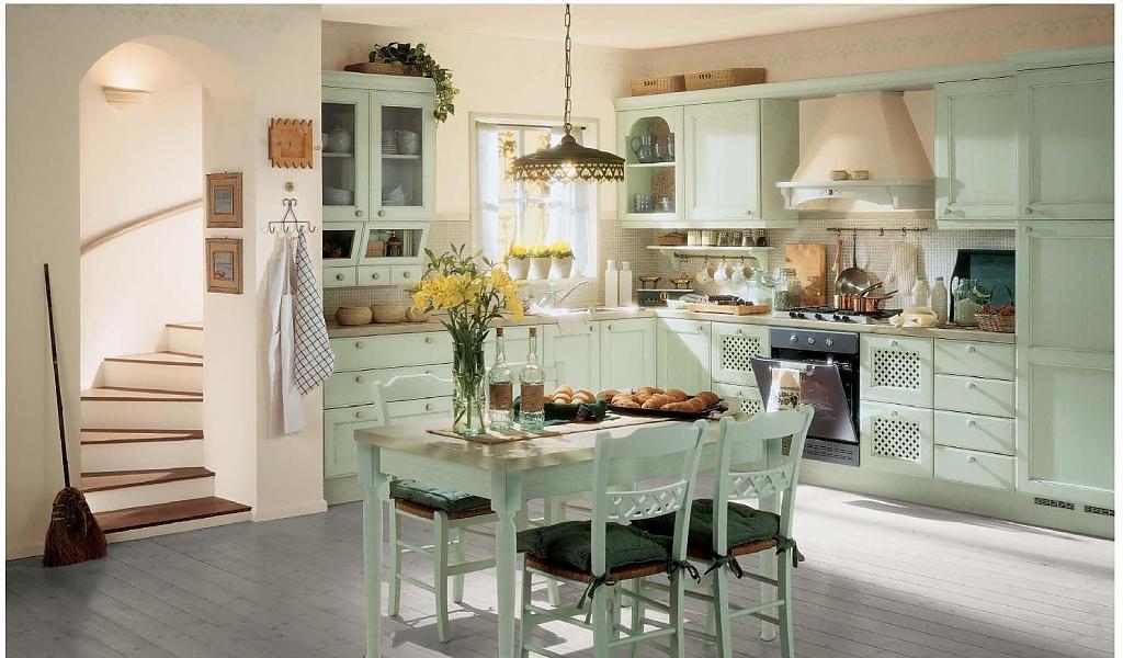 Кухня в стиле прованс - Фото 51