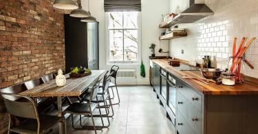 Недорогая кухонная мебель от компании British Standard