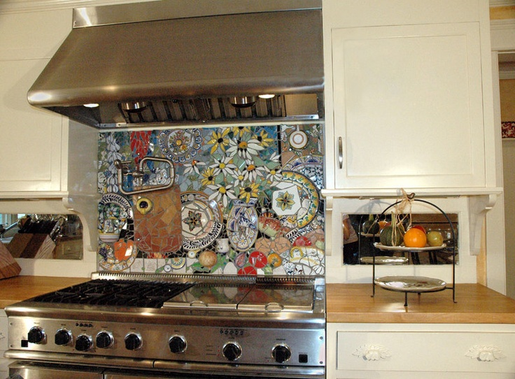 Как украсить фартук на кухне своими руками