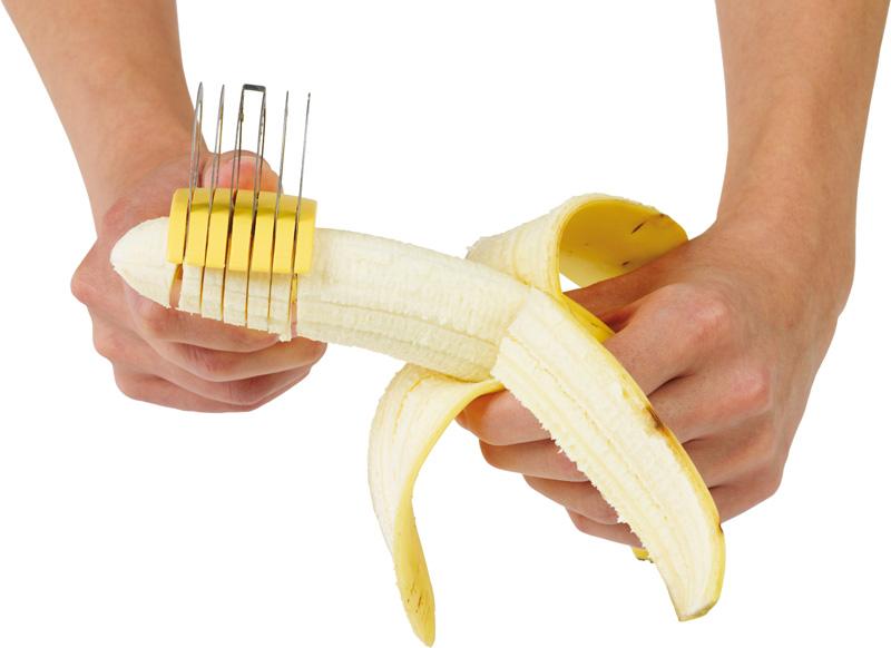 Кухонный гаджет: нож для нарезки банана