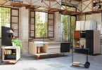 Кухонный гарнитур с дизайном от фирмы Miras