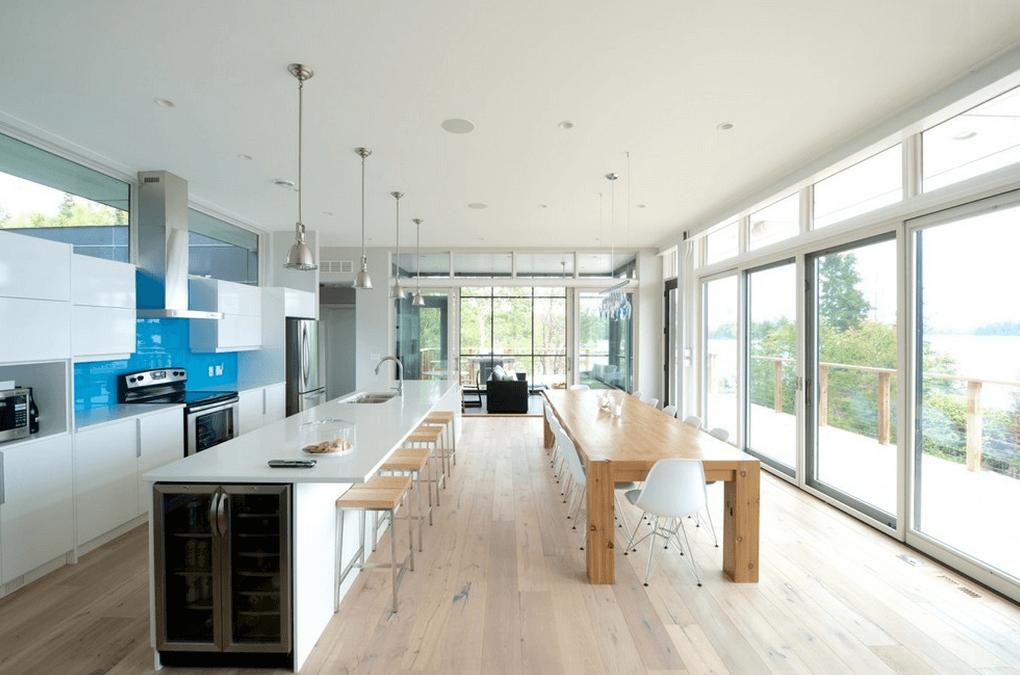 Дизайн кухонного острова. Фото 9