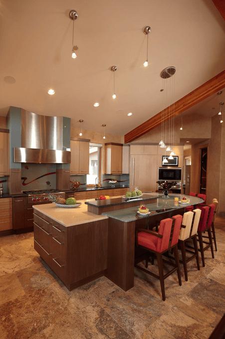 Дизайн кухонного острова. Фото 13