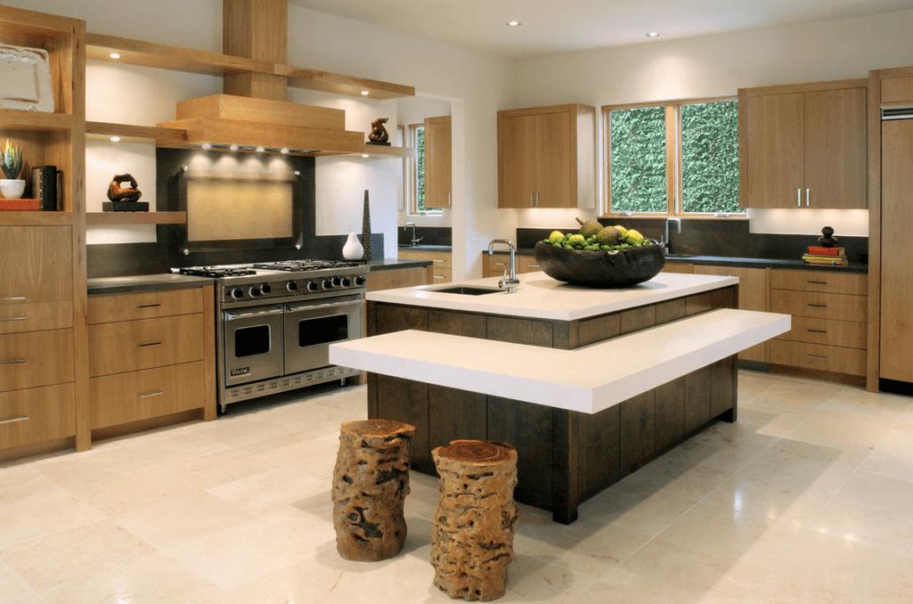 Дизайн кухонного острова. Фото 14