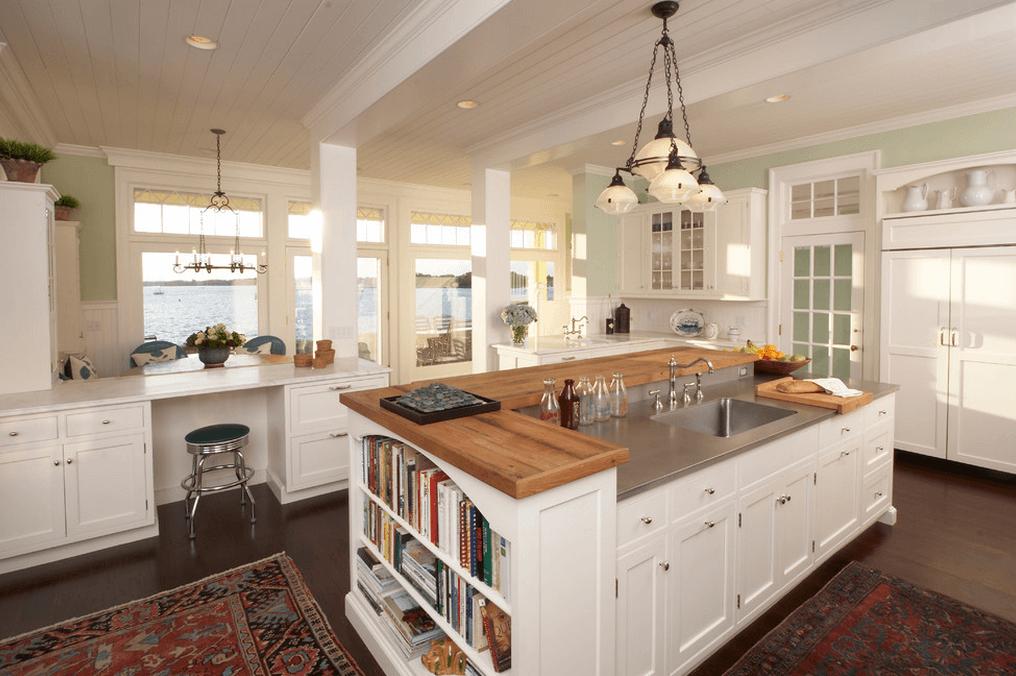 Дизайн кухонного острова. Фото 18