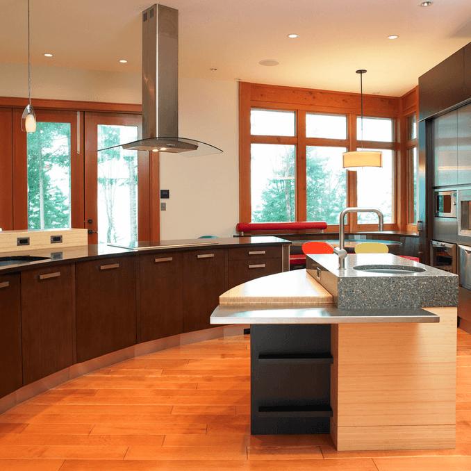 Дизайн кухонного острова. Фото 20