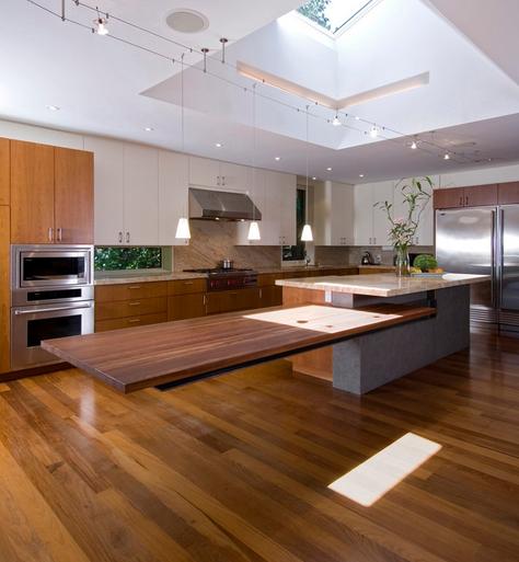 Дизайн кухонного острова. Фото 21