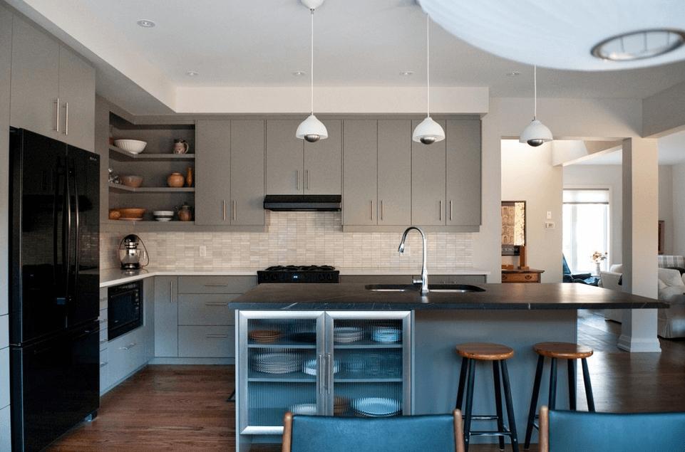 Дизайн кухонного острова. Фото 26