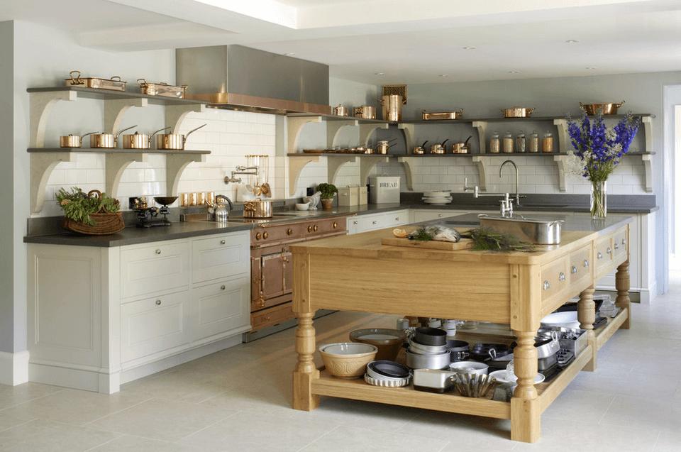 Дизайн кухонного острова. Фото 27