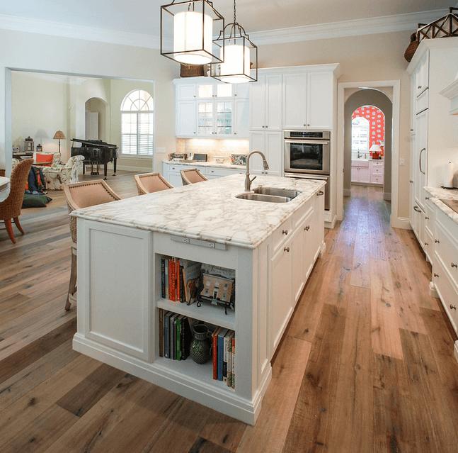 Дизайн кухонного острова. Фото 28